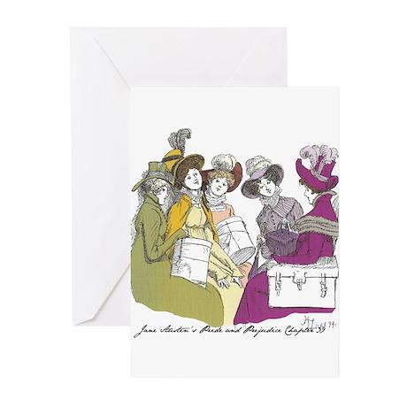 Pride & Prejudice Ch 39 Greeting Cards (Pk of 10)