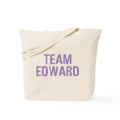 Team Edward (Light Purple) Tote Bag