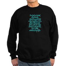 John 3:16 English Sweatshirt