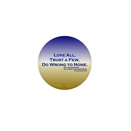 Love All Mini Button (100 pack)