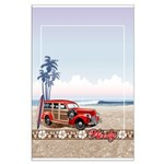 BEACHED WOODY Large Poster
