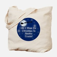 Another Tractor Christmas Tote Bag