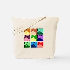 Pop Art Kitty Cat Effects Tote Bag