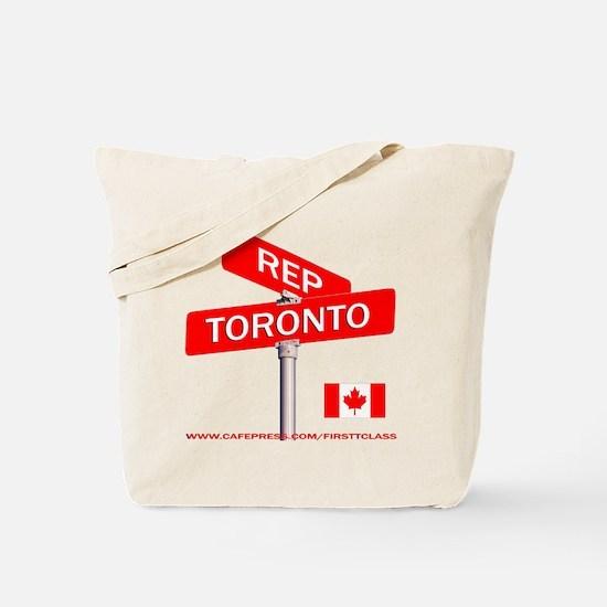 REP TORONTO Tote Bag