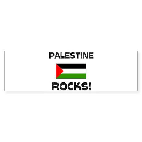 Palestine Rocks! Bumper Sticker