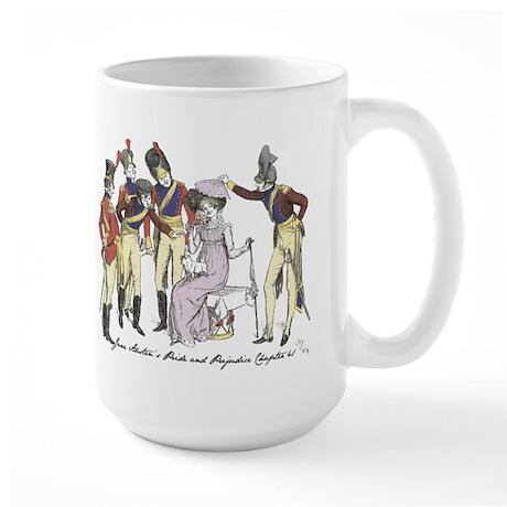 Pride & Prejudice Ch 41 Large Mug