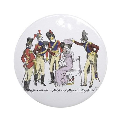 Pride & Prejudice Ch 41 Ornament (Round)