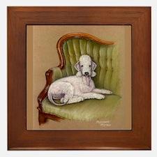 Bedlington-Her Royal Highness Framed Tile