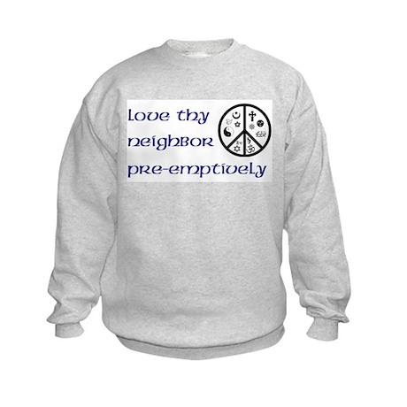 Pre-Emptively Kids Sweatshirt