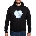 Flurry Snowflake IV Hoodie (dark)
