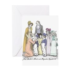 Pride & Prejudice Ch 42 Greeting Card