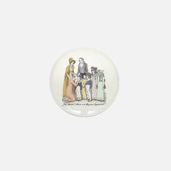 Pride & Prejudice Ch 42 Mini Button