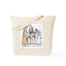 Pride & Prejudice Ch 42 Tote Bag