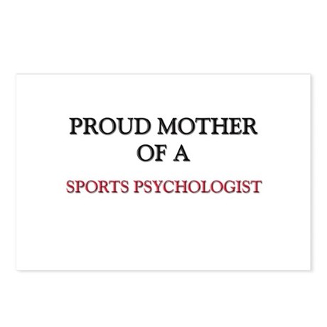 Proud Mother Of A SPORTS PSYCHOLOGIST Postcards (P