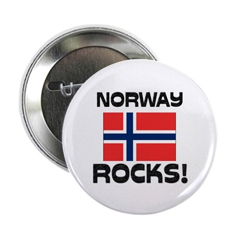"Norway Rocks! 2.25"" Button"
