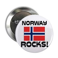 "Norway Rocks! 2.25"" Button (10 pack)"