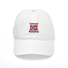 Norway Rocks! Baseball Cap
