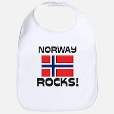 Norway Rocks! Bib