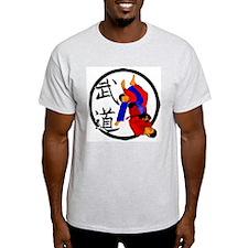 Budo Jiu Jitsu Ash Grey T-Shirt