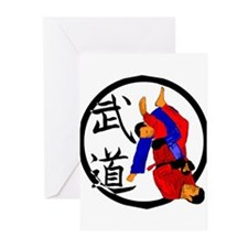 Budo Jiu Jitsu Greeting Cards (Pk of 10)
