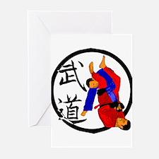 Budo Jiu Jitsu Greeting Cards (Pk of 10)