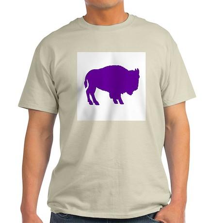 Purple Buffalo Light T-Shirt