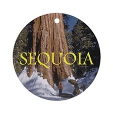 ABH Sequoia Ornament (Round)