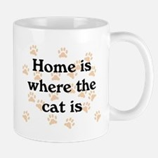 Home Is Where Cat Is Mug