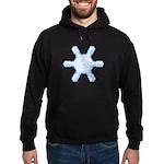 Flurry Snowflake VII Hoodie (dark)