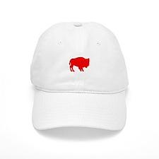 Red Buffalo Baseball Cap