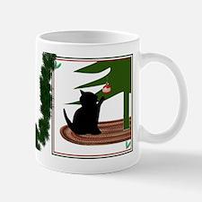 Funny Cat Christmas Mug