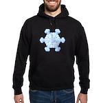 Flurry Snowflake XI Hoodie (dark)