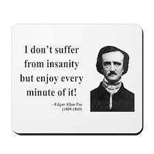 Edgar Allan Poe 17 Mousepad