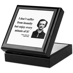 Edgar Allan Poe 17 Keepsake Box