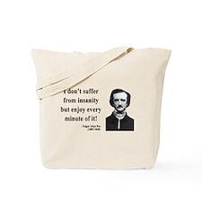Edgar Allan Poe 17 Tote Bag