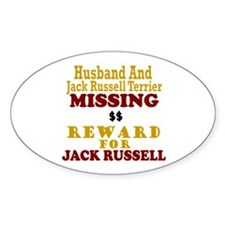 Husband & Jack Russell Terrier Missing Decal