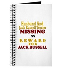 Husband & Jack Russell Terrier Missing Journal