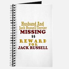 Husband & Jack Russell Terrier Missing Journal