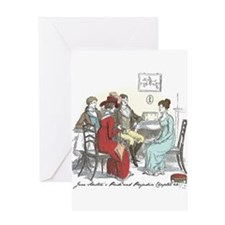 Pride & Prejudice Ch 44 Greeting Card