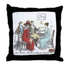 Pride & Prejudice Ch 44 Throw Pillow