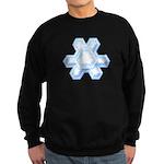 Flurry Snowflake XII Sweatshirt (dark)