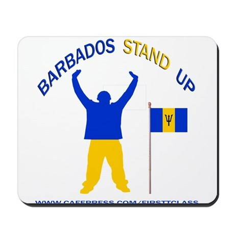 REP BARBADOS Mousepad