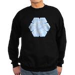 Flurry Snowflake XVI Sweatshirt (dark)