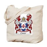 Cortes Family Crest Tote Bag