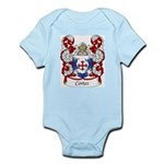 Cortes Family Crest Infant Creeper