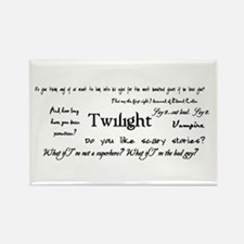 Twilight Quotes Rectangle Magnet