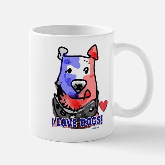 I Love Dogs! Mug