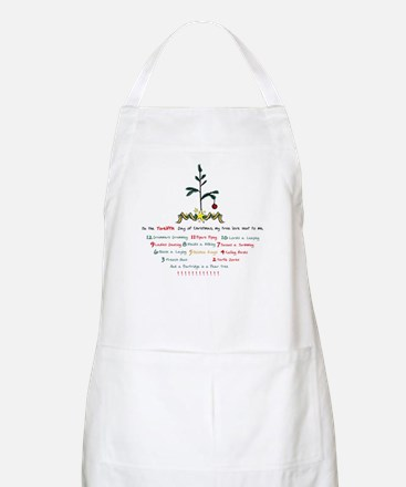 12 Days of Christmas Apron