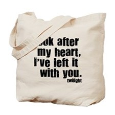 Twilight Movie Quote Tote Bag
