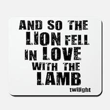 Twilight Movie Quote Mousepad